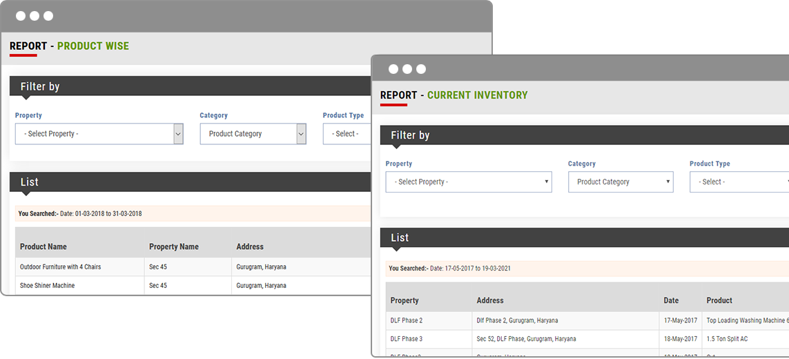 Single Click Inventory Management