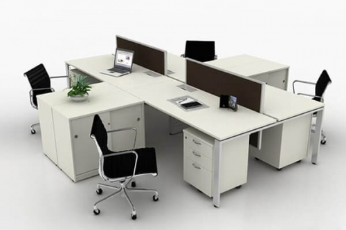Hydra Major 4seater workstation